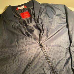 Zara Man's Mesh Textured Bomber Jacket
